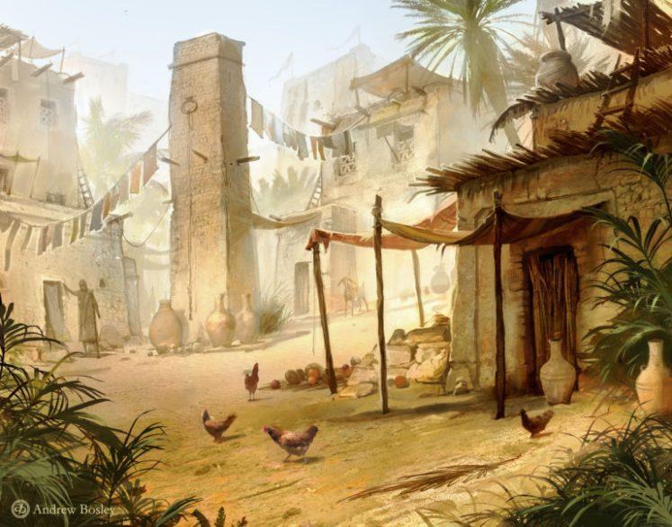 egyptian-village-illustration-768x602